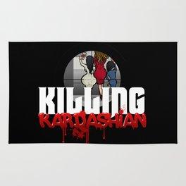 Killing Kardashian Sniper Logo Rug