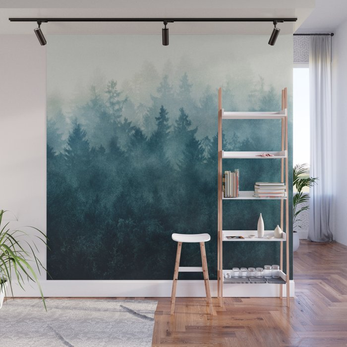 The Heart Of My Heart So Far From Home Edit Wall Mural by tekay