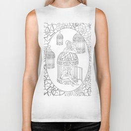 Borges and I Biker Tank