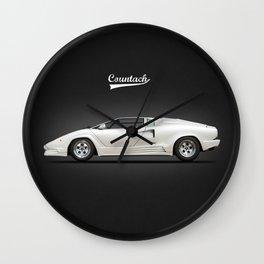 The 1990 Countach Wall Clock