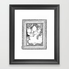asc 264 - La gourmandise (The sweetmeat) Framed Art Print