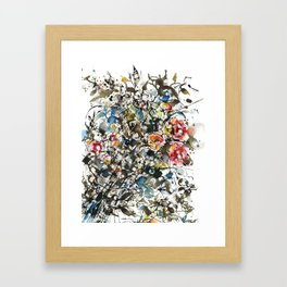THOUGHTS 2 Framed Art Print