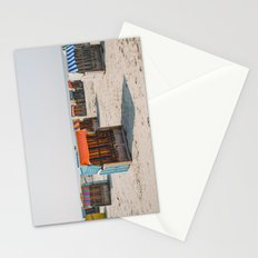 Cabines de plage 4 Stationery Cards