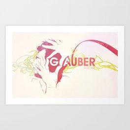 Glauber Rocha Art Print