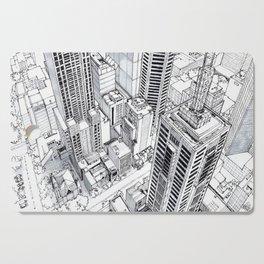 City view Cutting Board