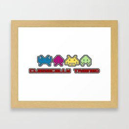 Classically Trained - 80s Video Games Framed Art Print