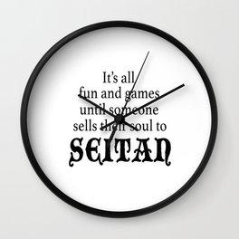 Vegan Soul Selling Wall Clock