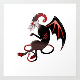 The Jersey Devil Art Print