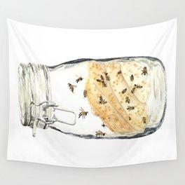 Captives: The Bee Jar Wall Tapestry