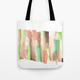 [161228] 14. Abstract Watercolour Color Study |Watercolor Brush Stroke Tote Bag