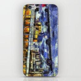 New York police Department Van Gogh iPhone Skin