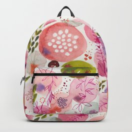 Pink Bubble for a Happy Spring Backpack