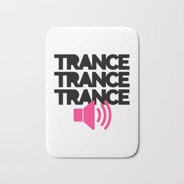 Trance Speaker Music Quote Bath Mat