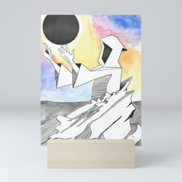 Greta Van Fleet Wizard Monument Mini Art Print