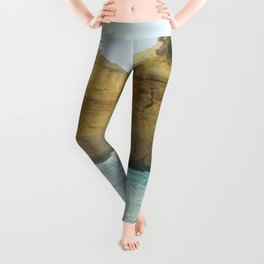 On a Collision Course Leggings
