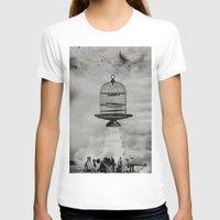 spaceship T-shirts featuring spaceship jail by sr casetin