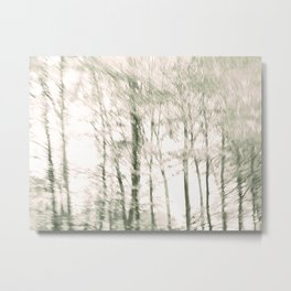 Windy Woods Metal Print