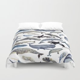 Whale Song Duvet Cover