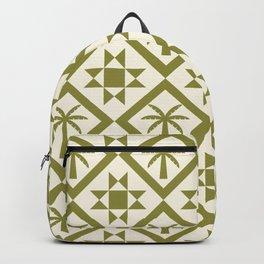 Bohemian Geometric Pattern 06A Backpack