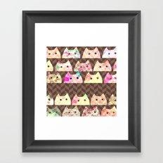 cat-277 Framed Art Print