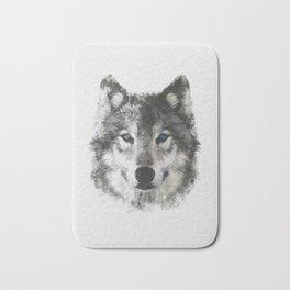 Wolf Face Bath Mat