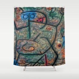 Paul Klee Rumors Shower Curtain