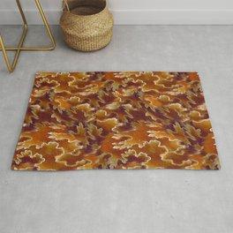 Scallop stone pattern Rug