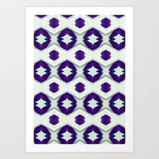 Pattern 2 digital design Art Print