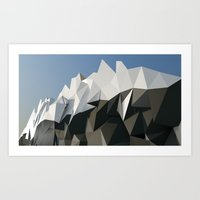low poly Art Prints featuring Low Poly by Bashar Subeh Photography