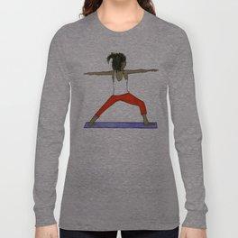 Yoga Folks - Warrior.   Long Sleeve T-shirt