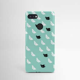 Flock of pigeons Android Case