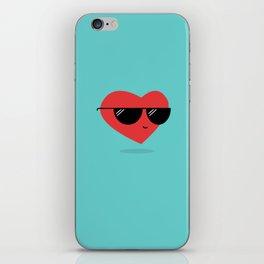 Cool Heart iPhone Skin