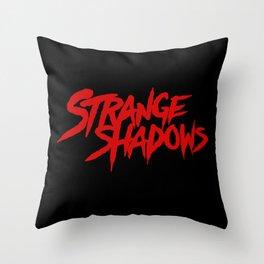 Strange Shadows Throw Pillow