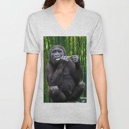 Skin-up Gorilla Unisex V-Neck