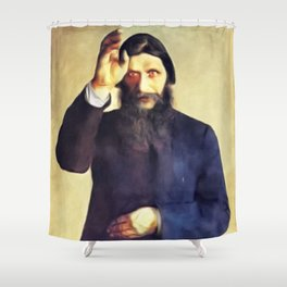 Grigori Rasputin Shower Curtain
