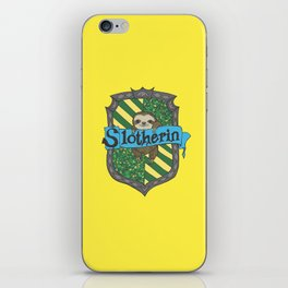 Slotherin iPhone Skin