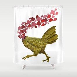Pollo Shower Curtain