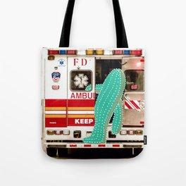 Cactus meets NYC 042 Tote Bag
