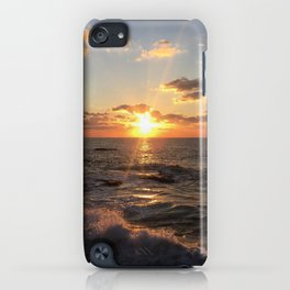 Mediterranean Sunset (Joppa) iPhone Case