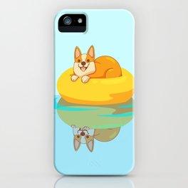 Summer Corgi iPhone Case