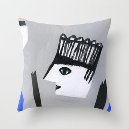 Strange groove Throw Pillow