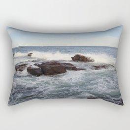 Ocean breaking Rectangular Pillow