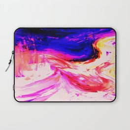 Abstract Hurricane 3 by Robert S. Lee Laptop Sleeve