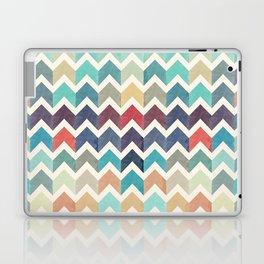 Watercolor Chevron Pattern Laptop & iPad Skin