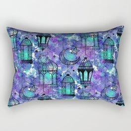 Ramadan Pattern Rectangular Pillow