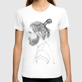 Beard & Top Knot T-shirt