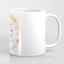Be Still Bible Verse (Psalm 46:10) Coffee Mug