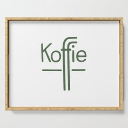 Koffie Serving Tray