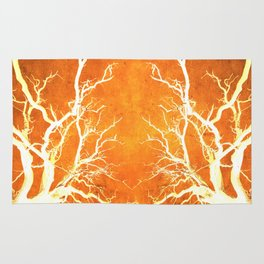 Branches of Fire Touch Rug