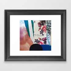 Firsts Framed Art Print